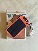 Quality Solar Phone Chargers Li-polymer battery 12000mAh wholesale