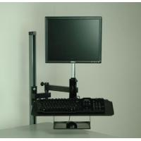 China Monitor & Computer Accessories Flat Screen Monitor Arm W/ Keyboard And Mouse Tray on sale
