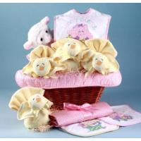 Quality Unique Baby Gifts Easter Baby Gift Basket-Girl wholesale