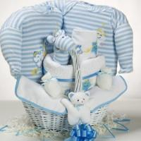 Quality Baby Gift Baskets Catch-A-Star Boy Baby Gift Basket wholesale