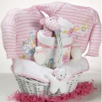 Quality Baby Gift Baskets Catch-A-Star Girl Baby Gift Basket wholesale