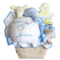 Quality Baby Gift Baskets Baby Gift Basket of Happiness for Baby Boy wholesale