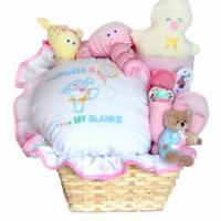 Quality Baby Gift Basket of Happiness Basket for Baby Girl wholesale