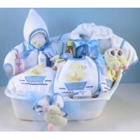 """Quality Baby Gift Baskets """"The Baby Spa"""" Baby Boy Gift wholesale"""