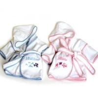 Quality Personalized Baby Gifts Ultimate Terry Velour Personalized Hooded Bathrobes for Babies & Kids wholesale