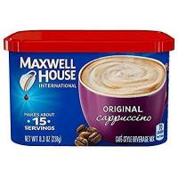 Quality Maxwell House International Coffee Original Cappuccino, 8.3-Ounce (Pack of 4) from Maxwell House wholesale