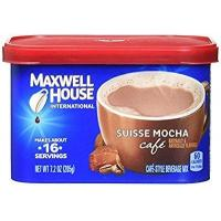 Quality Maxwell House International Coffee Suisse Mocha Cafe, 7.2-Ounce Cans (Pack of 4) by Maxwell House wholesale