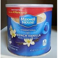 Quality Maxwell House International Coffee French Vanilla Cafe, 29 Ounce Cans (Pack of 2). by Maxwell House wholesale