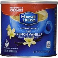 Quality Maxwell House International Coffee French Vanilla Cafe, 29 Ounce Cans by Maxwell House wholesale
