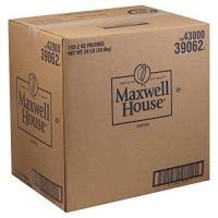 Quality Coffee Maxwell House Ground Coffee  2 oz. fractional pack, 192 packs per case wholesale