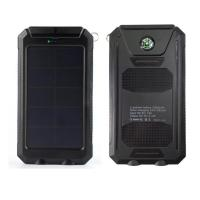 China 6000mah waterproof solar panel battery charger on sale