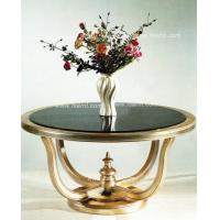 Quality European Sculptural Luxury Glass Flower Tables for Hotel wholesale