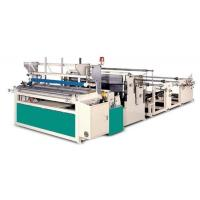 Semi-automatic Toilet Paper Embossing and Rewinding Machine