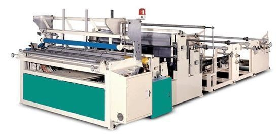 Cheap Semi-automatic Toilet Paper Embossing and Rewinding Machine for sale