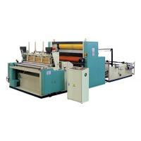 Quality Full- automatic trimming spray adhesive sealing embossing punch rewinding kitchen towel machine wholesale