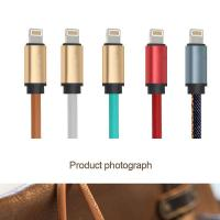 Quality 5V 2.4A PU Covered Charging and Data Cable for Samsung, iPhone USB Wall Charger wholesale