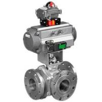 Quality SPTO/SPLO Pneumatic 3-way Ball Valve wholesale