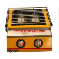 China RY-ET-K111 Luxury Two-head environmental roaster gas Home barbecue grill machines on sale