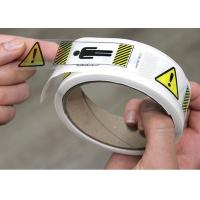 Buy cheap Clear BOPP Printed Adhesive Electrical Warning Labels Shipping Carton from wholesalers