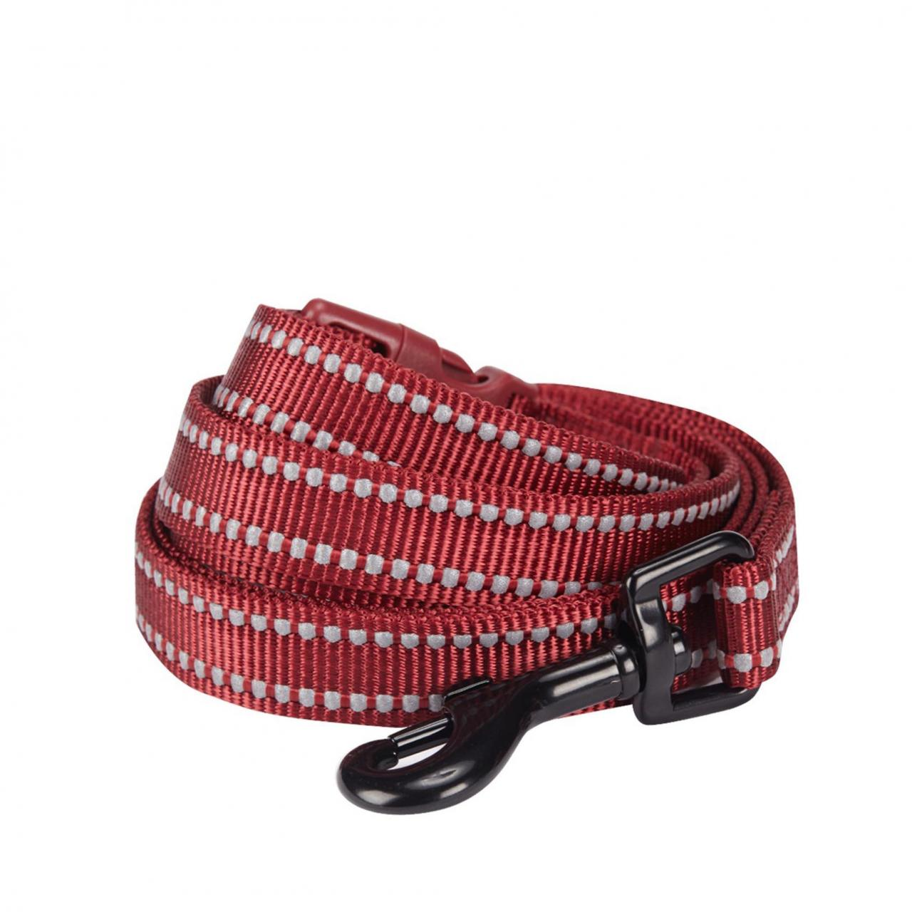 Quality 3M Reflective Dog Leash in Marsala wholesale