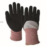 Quality 3/4 sandy nitrile coated cutting resistant gloves wholesale