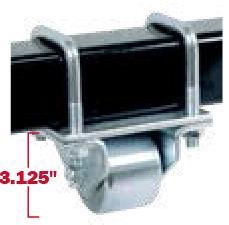 Cheap Electronic Jacks Hitch Mount Steel Roller for sale