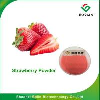 China StrawberryPowder/Hot Sale 100% Freeze Dried Fruit Strawberry Powder for Ice Cream and Beverage on sale