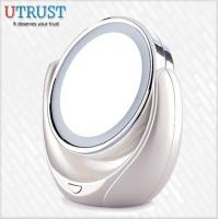 Quality Double sides 5x magnification table stand desktop mirrors on sale wholesale