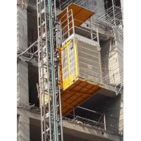 Buy cheap 3 ton rack pinion type outdoor Temporary Construction Elevators from wholesalers