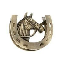 Quality Door Knockers and Hooks Horse with Horseshoe Door Knocker wholesale