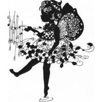 Buy cheap PC-006BPAPER CUTS DANCING GIRL from wholesalers