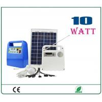 Quality 10w portable solar system wholesale