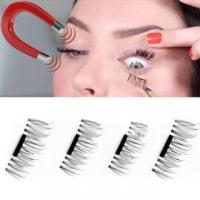 Buy cheap Extension Magnetic Eyelashes Makeup Soft Hair 3D Magnetic False Fake Eyelashes from wholesalers