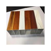 Quality Wood grain aluminum extrusion profile wholesale