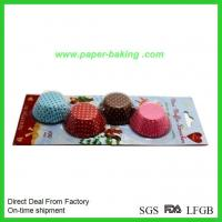 Quality Paper Cupcake Cases Baking Liners for Party wholesale