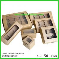 Quality Paper Bakery Cake Boxes with Window wholesale