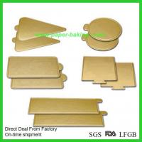 Buy cheap Cheap Gold Cardboard Cake Rounds Cake Boards from wholesalers