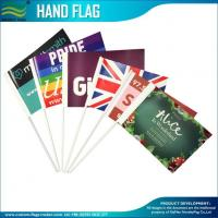 Quality 157gsm coated paper promotion hand waving Stick flags wholesale