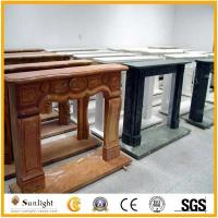 Culture Stone Natural Stone Marble Fireplace Mantel