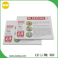 China Professional Child CPR Survival Skills First Aid Training Talking Postcards for Educational Card on sale