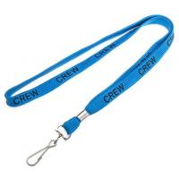 Buy cheap Designer Personalized Blue Tubular Neck Keychain Lanyard from wholesalers