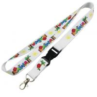 Buy cheap Create Your Own Sublimation ID Neck Lanyard No Minimum from wholesalers