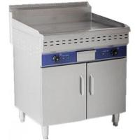 Free standing electric griddle