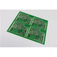 Buy cheap 4 Layer Rigid Pcb green solder mask and white silkcreen from wholesalers