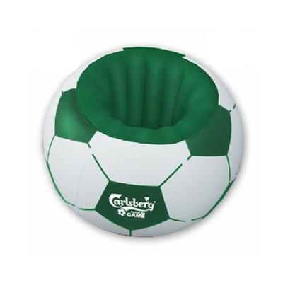 Cheap Football shape inflatable cooler for beer pvc cooler inflatable ball shape cooler for sale