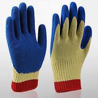 Quality Safety Gloves Kevlar Latex Coated Cut Resistant Gloves wholesale