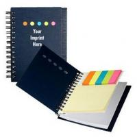 China PP cover pocket notebook spiral binding with colorful paper on sale