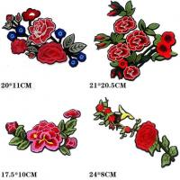 China Embroidered Lace Motifs on sale