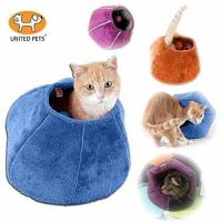 China United Pets Kitty Cat Cozy Cave & Bed Purple on sale