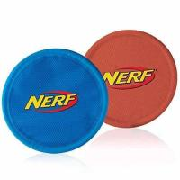 Quality Nerf Dog Nylon Flying Disk Dog Toy, Large, 2-Pack, Blue and Red wholesale